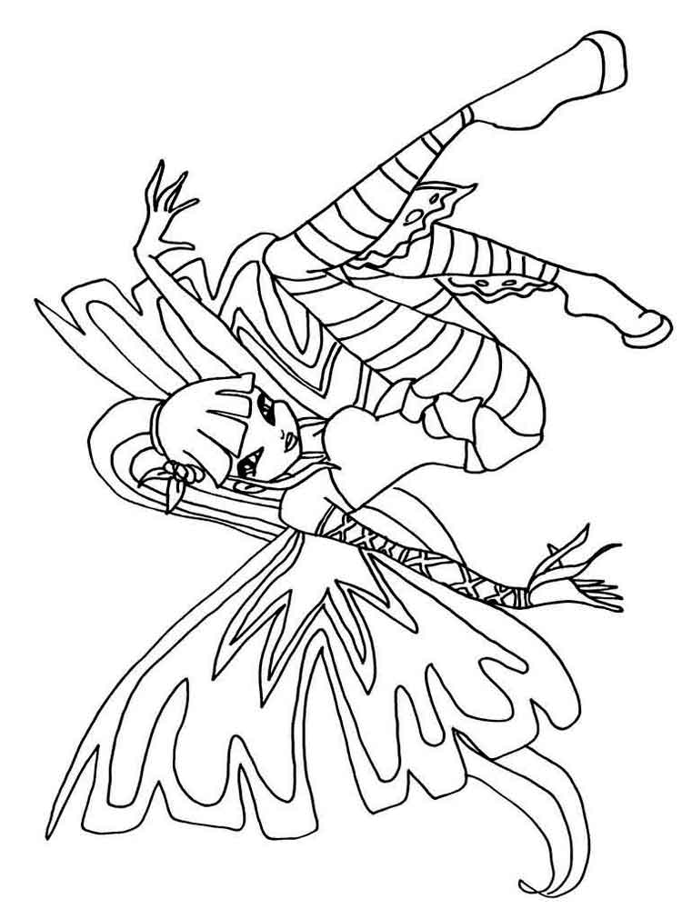 musa winx coloring pages - photo#38