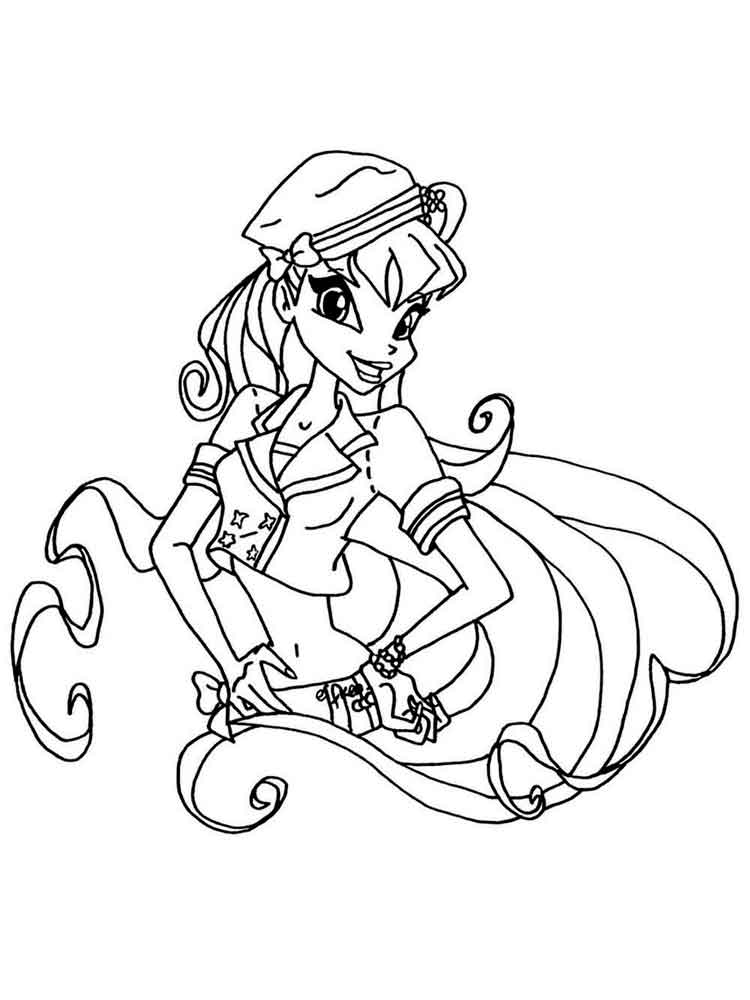 750 Top Winx Cartoon Coloring Pages , Free HD Download
