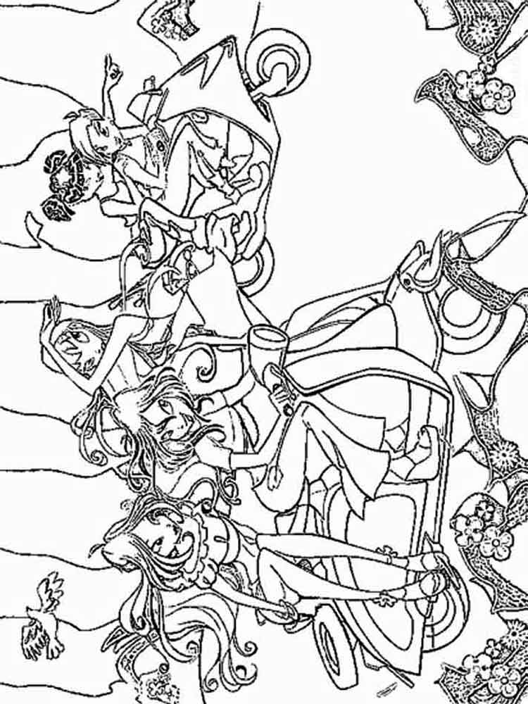 Winx Club Coloring Pages Download And Print Winx Club