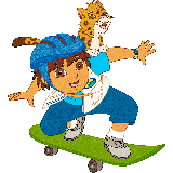 Go, Diego, go coloring pages