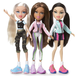 Bratz Dolls coloring pages
