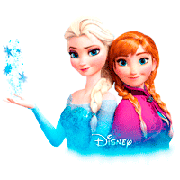 Elsa & Anna coloring pages