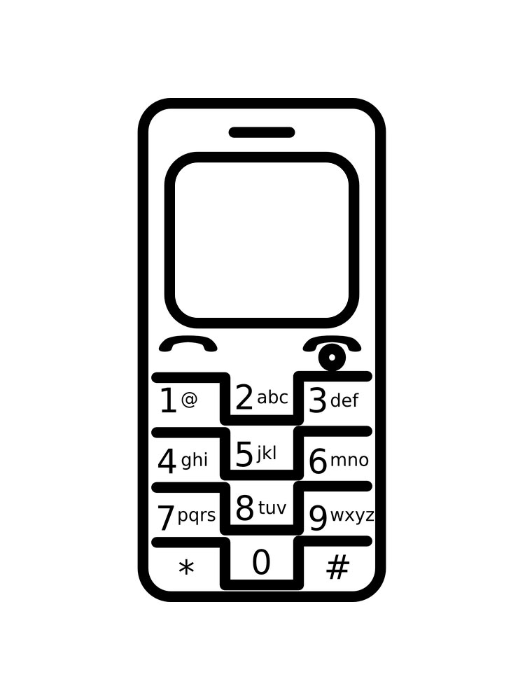 Cell Phone coloring pages. Free Printable Cell Phone ...