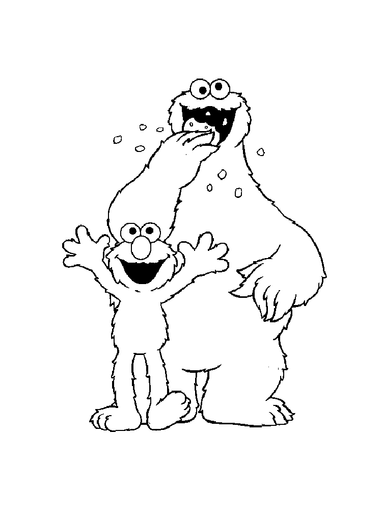 Cookie Monster coloring pages. Free Printable Cookie ...