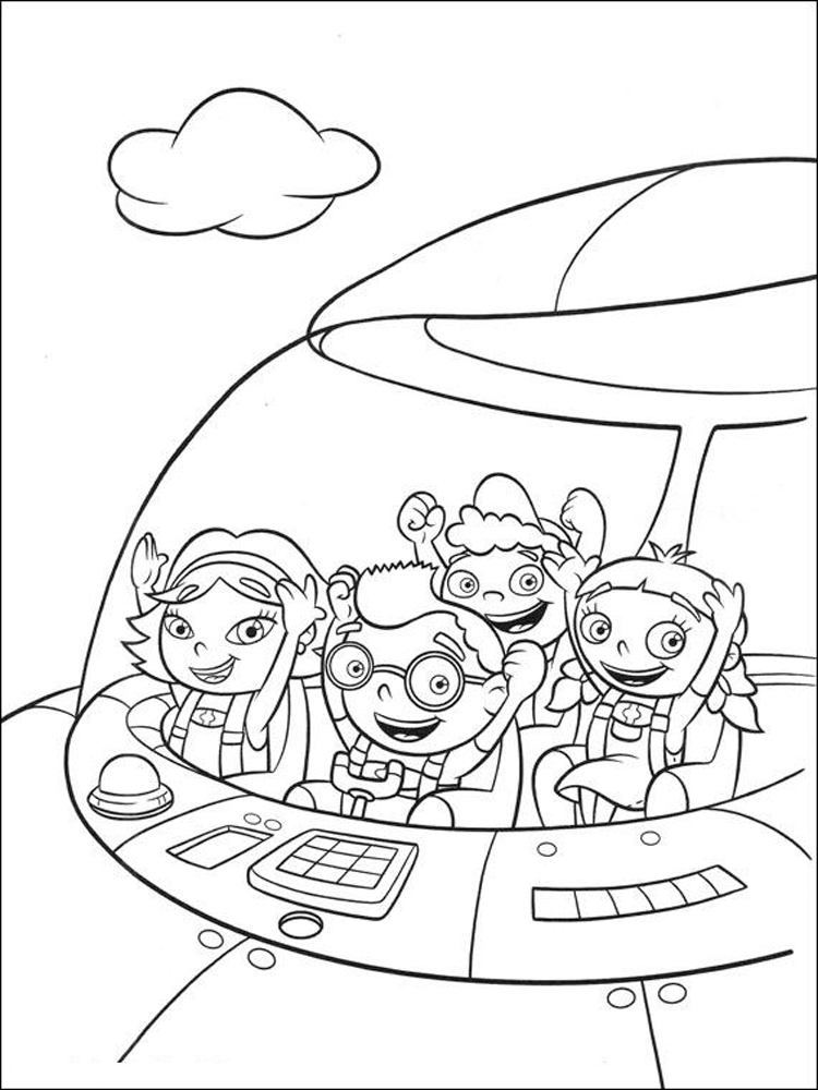 Little Einsteins Coloring Pages Free Printable Little Einsteins Coloring Pages