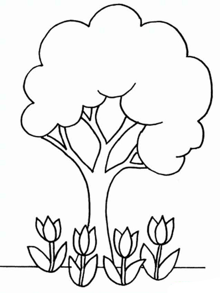 Simple Coloring Pages. Free Printable Simple Coloring Pages.