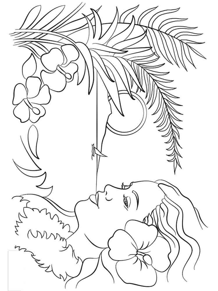 Hawaii coloring pages. Download and print Hawaii coloring ...