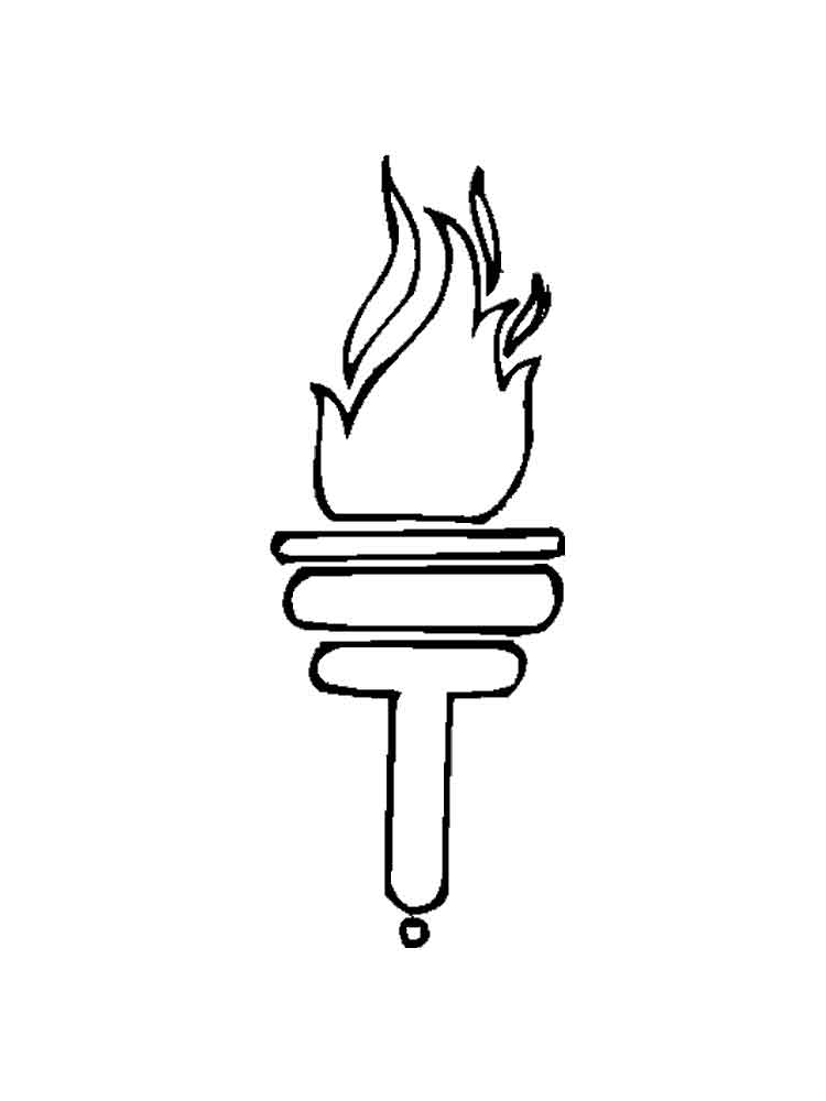 Fire coloring pages. Download and print Fire coloring pages