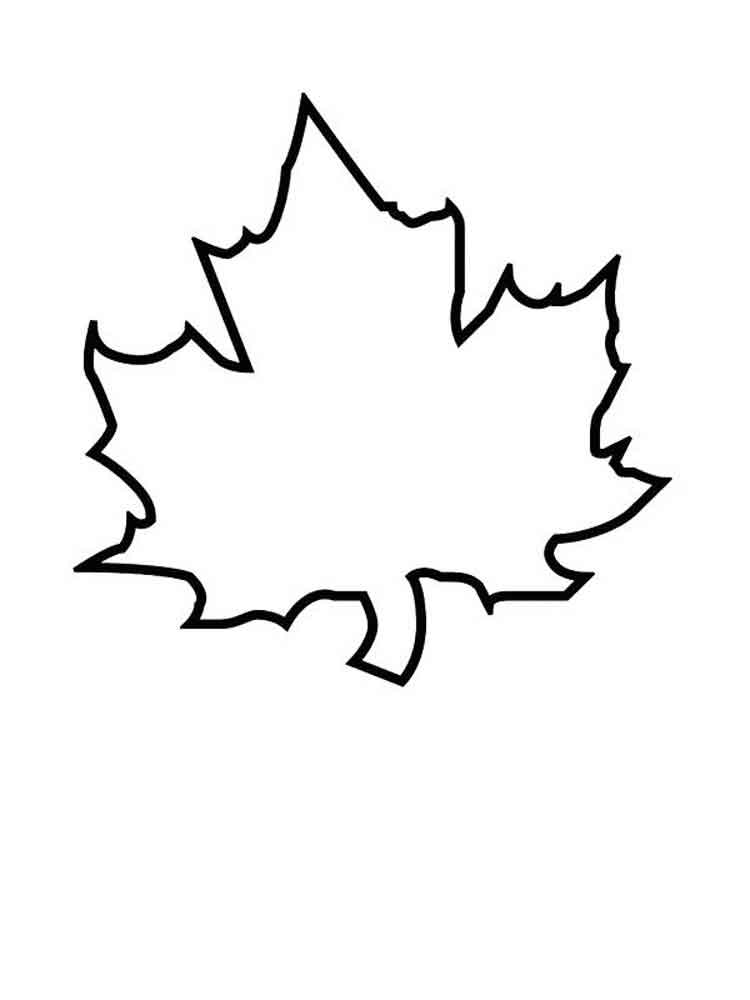 Leaves coloring pages Download and print leaves coloring pages