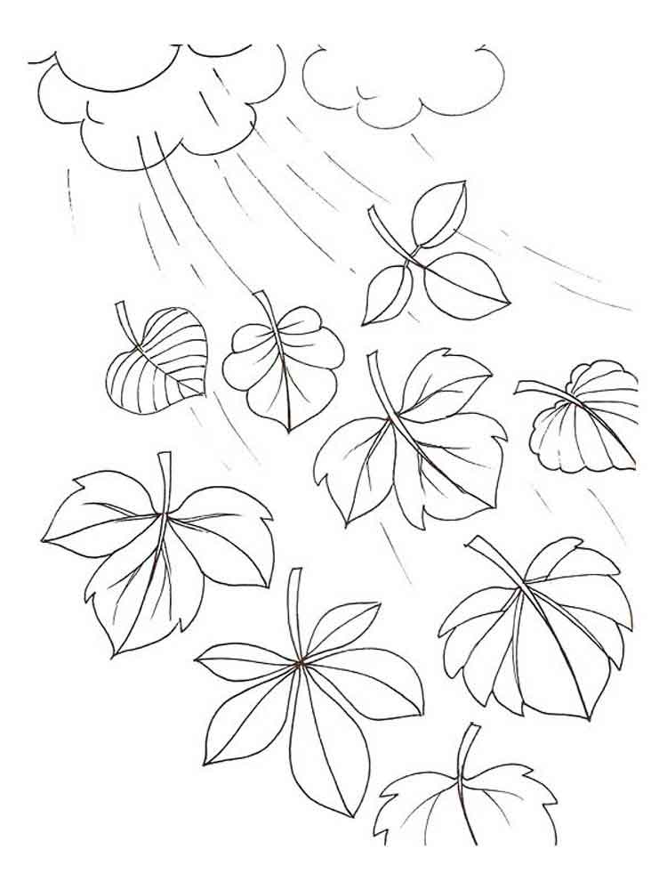 Champignon Kleurplaat Leaves Coloring Pages Download And Print Leaves Coloring
