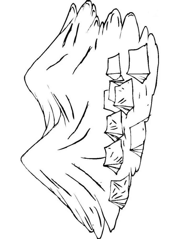 Mountains coloring pages Download