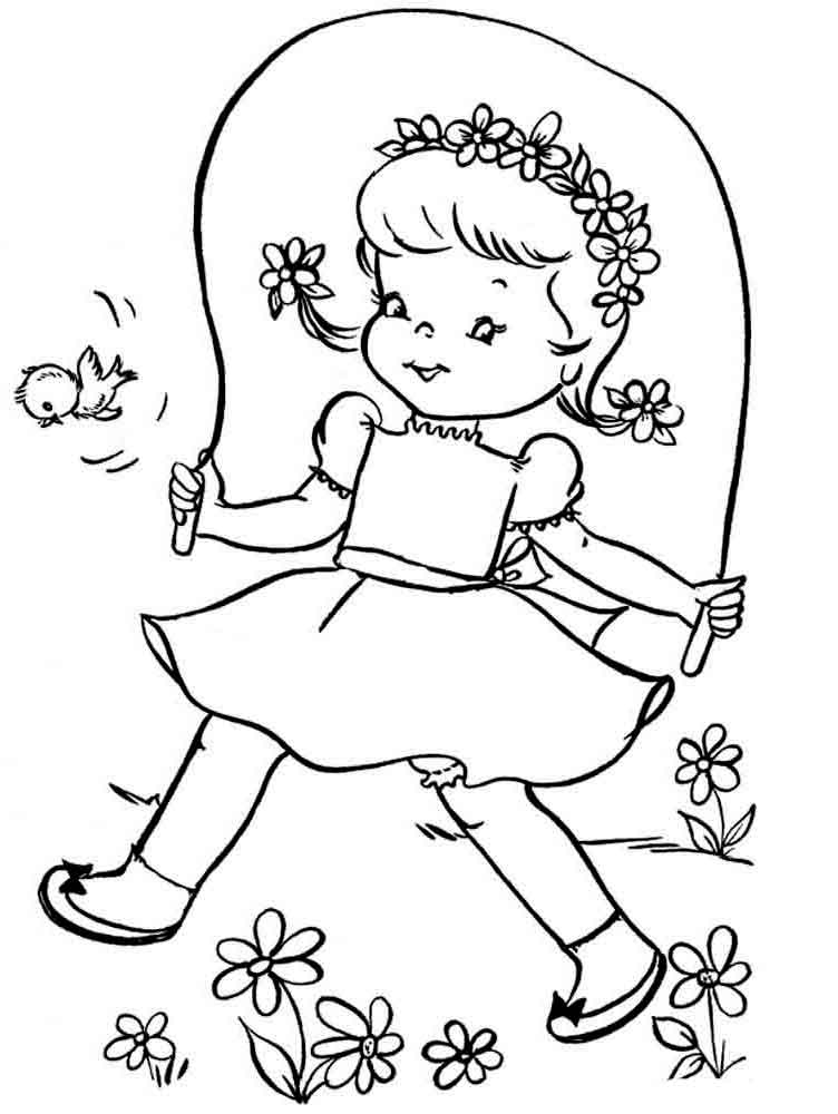 Spring Coloring Pages Download And Print Spring Coloring