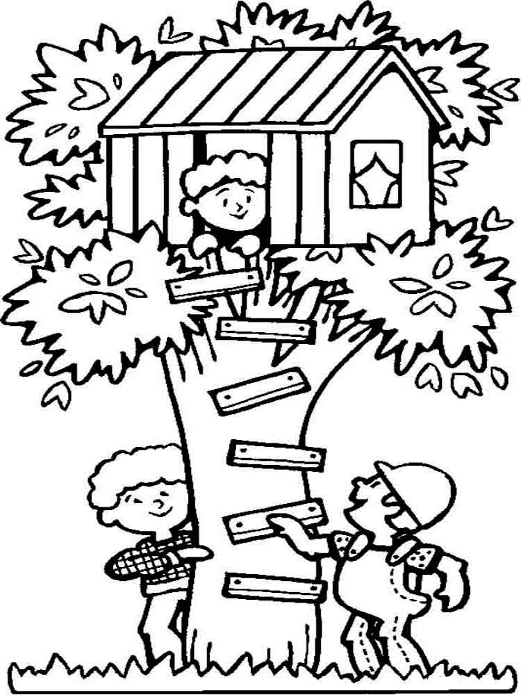 Summer coloring pages Download