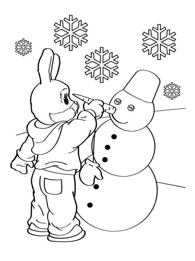 Winter Nature Coloring Sheets Coloring Coloring Pages