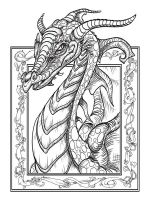 dragon-coloring-pages-for-adults-1