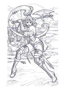 fantasy-coloring-pages-adult-1