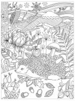 zentangle-Hedgehog-coloring-pages-2