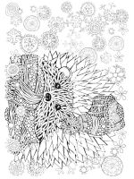 zentangle-Hedgehog-coloring-pages-9