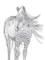 horse-coloring-pages-for-adults-13