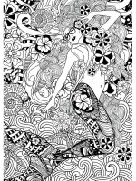 mermaid-coloring-pages-for-adults-5