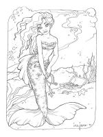 mermaid-coloring-pages-for-adults-8