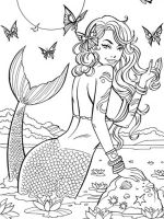 mermaid-coloring-pages-for-adults-9