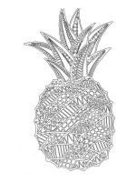 zentangle-Pineapple-coloring-pages-1