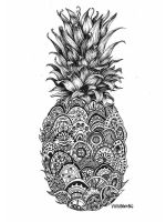 zentangle-Pineapple-coloring-pages-2