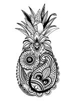 zentangle-Pineapple-coloring-pages-5