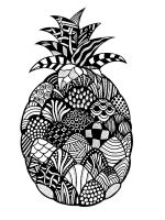zentangle-Pineapple-coloring-pages-6