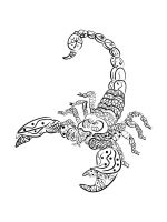 zentangle-Scorpio-coloring-pages-9