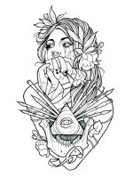 tattoo-coloring-pages-for-adults-22