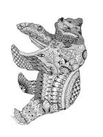 zentangle-bear-coloring-pages-1