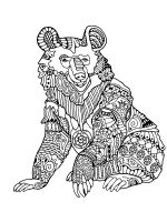zentangle-bear-coloring-pages-7