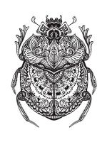 zentangle-beetle-coloring-pages-3