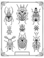 zentangle-beetle-coloring-pages-8