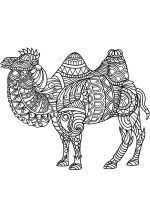 zentangle-camel-coloring-pages-9