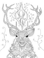 zentangle-deer-coloring-pages-2