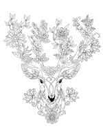zentangle-deer-coloring-pages-6
