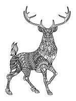 zentangle-deer-coloring-pages-7
