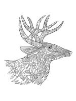zentangle-deer-coloring-pages-8