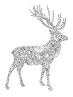 zentangle-deer-coloring-pages-9
