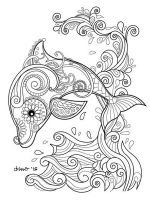 zentangle-dolphin-coloring-pages-9