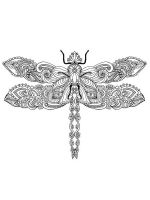 zentangle-dragonfly-coloring-pages-11