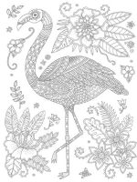 zentangle-flamingo-coloring-pages-11