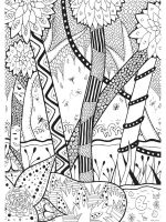 zentangle-forest-coloring-pages-4
