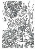 zentangle-forest-coloring-pages-8