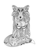 zentangle-fox-coloring-pages-4