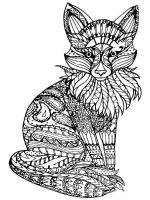 zentangle-fox-coloring-pages-7