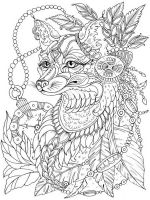 zentangle-fox-coloring-pages-8